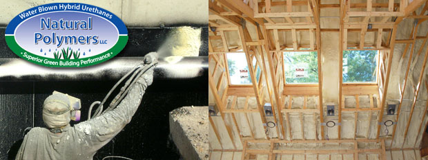 Natural Polymers Spray Foam News