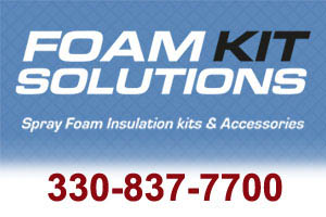 Spray Foam Insulation Kits and Accessories Ohio